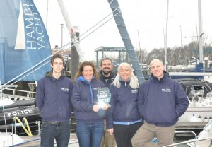 Hamble Point Yacht Charters wins Customer service award